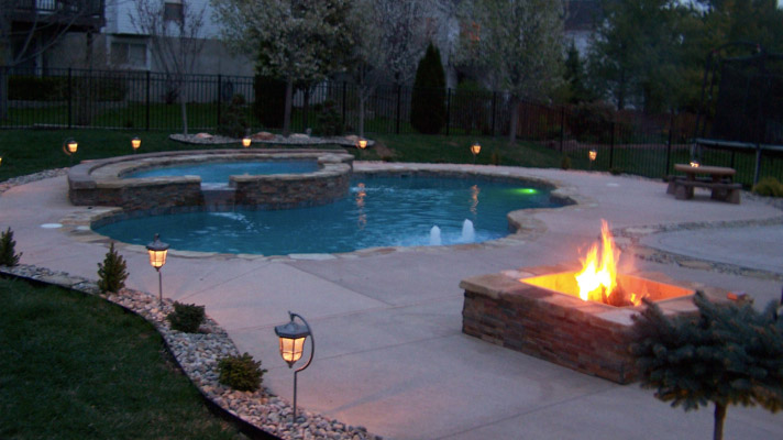 Diamond Pools Amp Spas Lighting For Trilogy Pools From